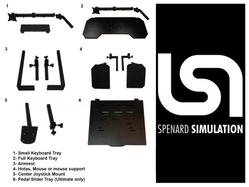Spenard Cockpit Accessories